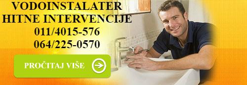 vodoinstalater baner500121